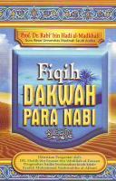 FIQIH DAKWAH PARA NABI [Dr. Rabi' bin Hadi 'Umair al-Madkhal.PDF