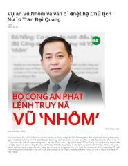 Vụ án Vũ Nhôm và ván cờ triệt hạ Chủ tịch Nước Trần Đại Quang.docx