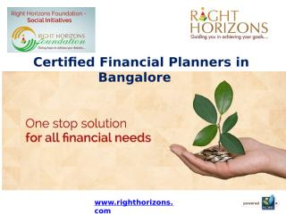 Certified Financial Planners in Bangalore.pptx