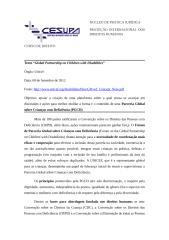 """9. Texto """"Global Partnership on Children with Disabilities""""..docx"""