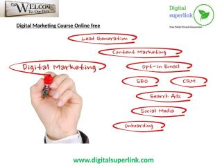 digital marketing course online free.pptx