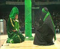 تعزیه ی شهادت حضرت زهرا