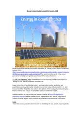 Energy in Saudi Arabia Market Analysis 2020.doc