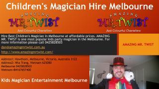 Childrens Magician Hire Melbourne.pdf