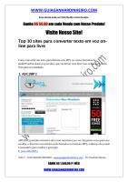 Top 10 sites para converter texto em voz on-line para livre.pdf
