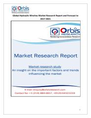 Global Hydraulic Winches Market Research Report and Forecast to 2017-2021.pdf