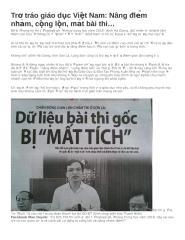 Trơ tráo giáo dục Việt Nam.docx