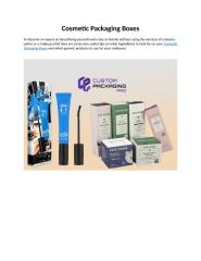 Cosmetic Packaging Boxes.doc