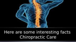 Here are some interesting facts Chiropractic Care.ppt