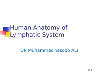 Lymphatic System.ppt