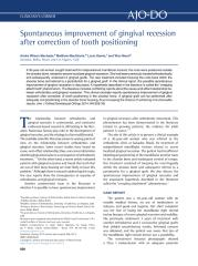 Spontaneous-improvement-of-gingival-recession-after-correction-of-tooth-positioning_2014_American-Journal-of-Orthodontics-and-Dentofacial-Orthopedics.pdf